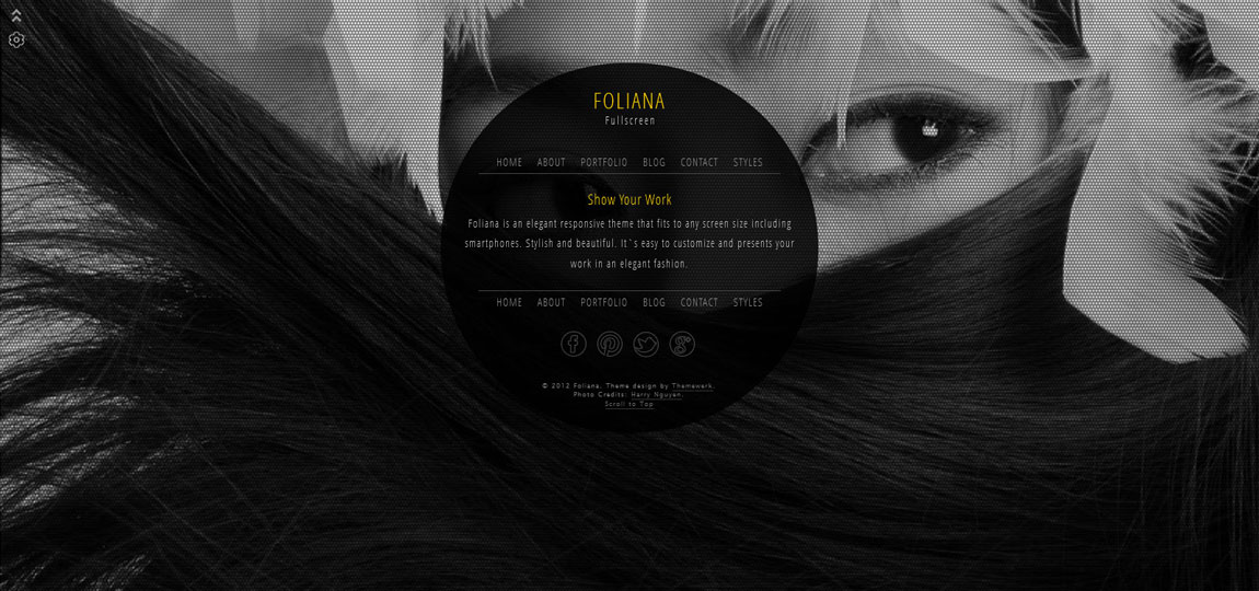 Foliana Website Screenshot