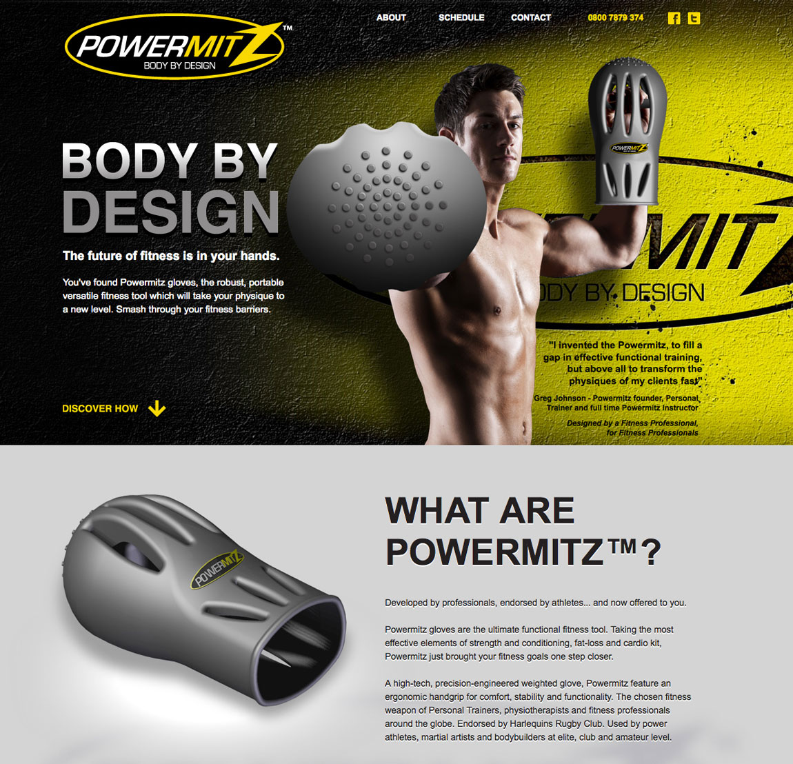 Powermitz Website Screenshot