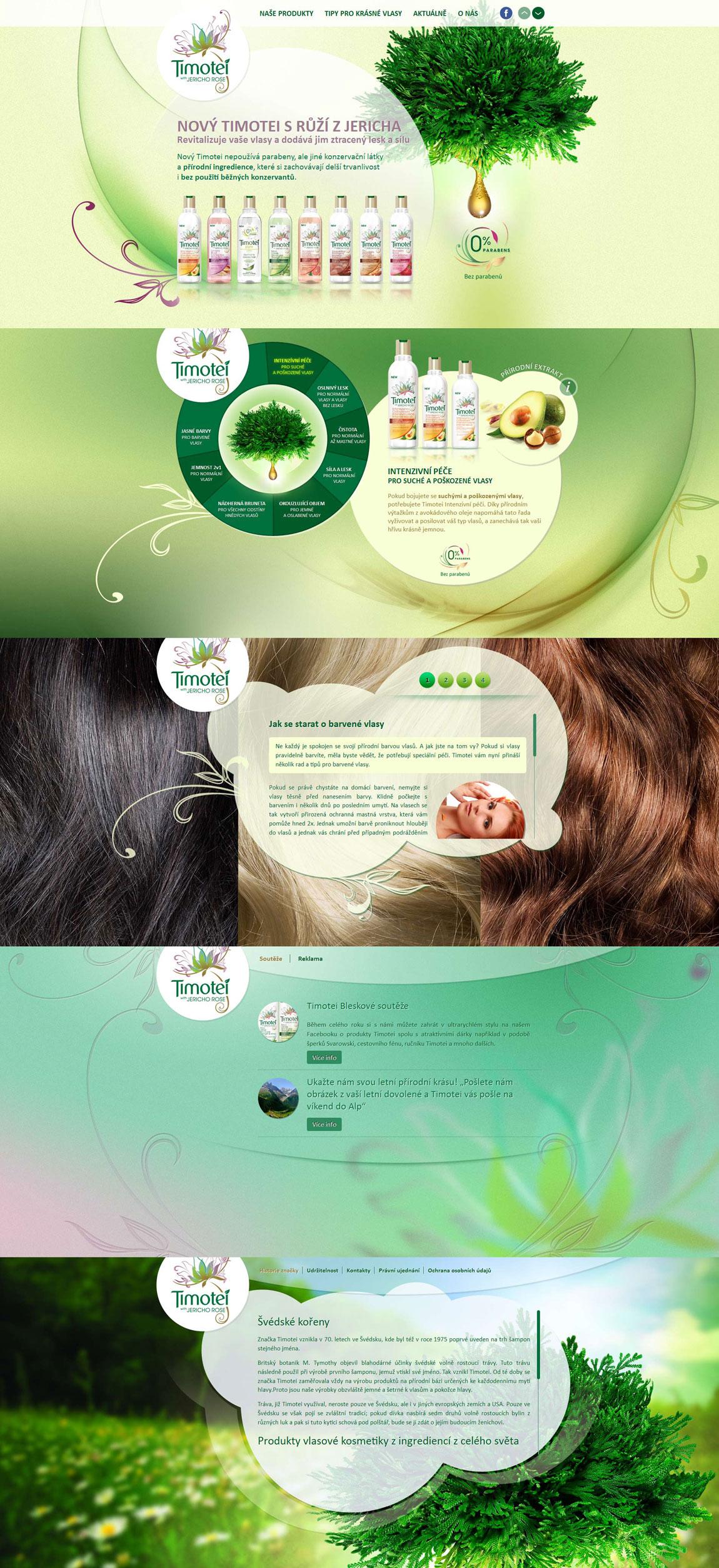 Timotei Website Screenshot