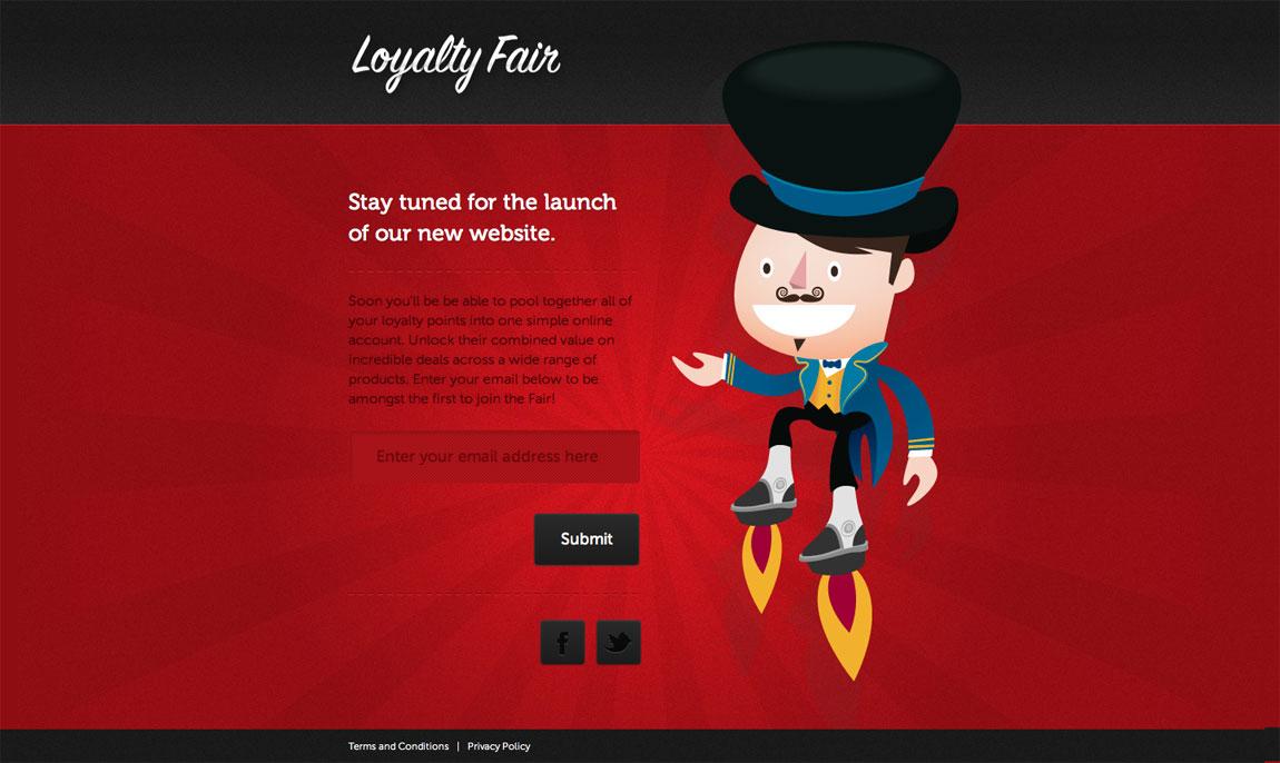 Loyalty Fair Website Screenshot