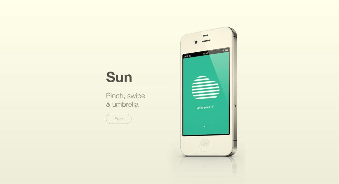 Sun Website Screenshot
