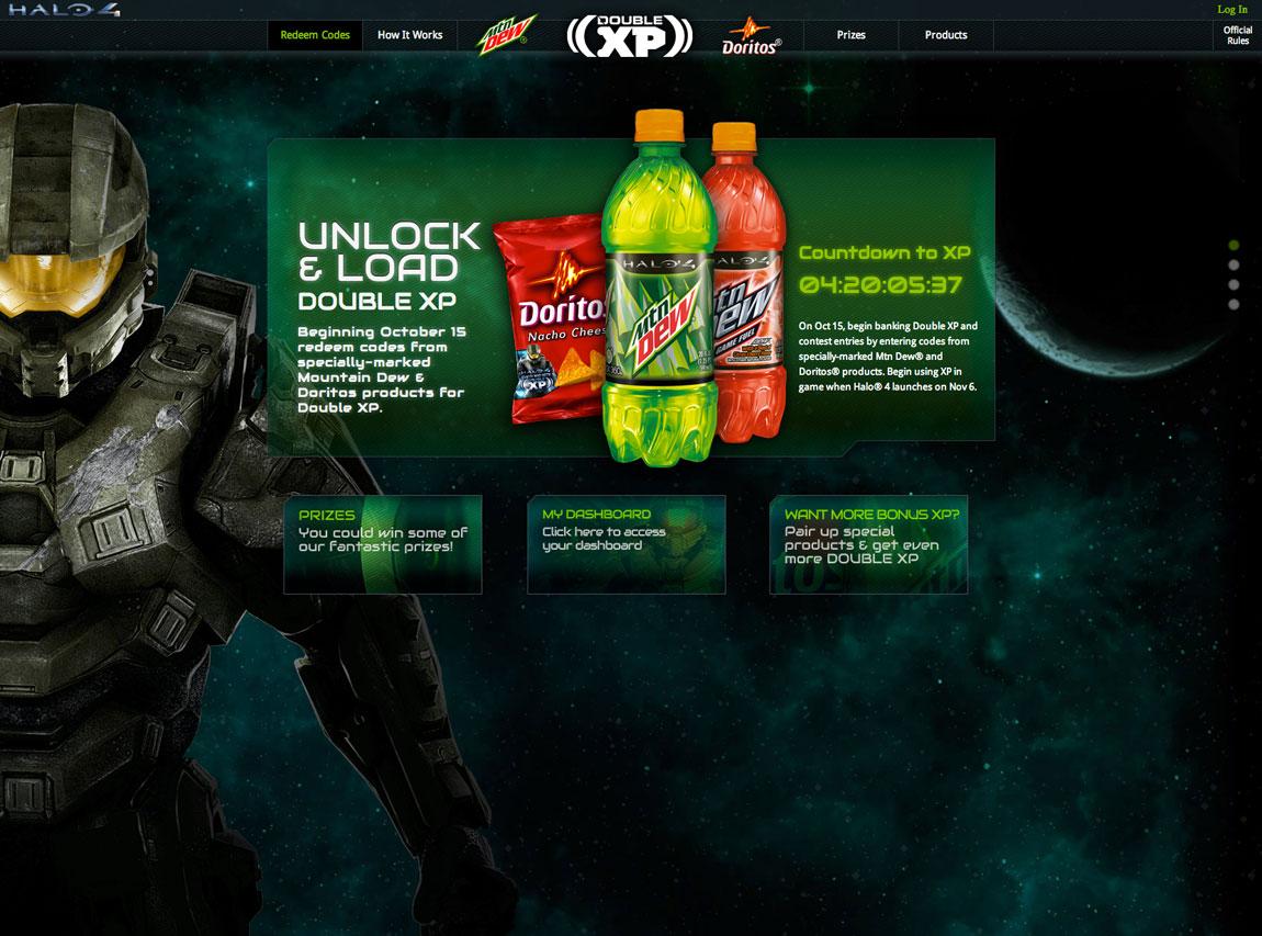 Double XP Website Screenshot