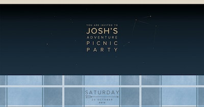 Josh's Adventure Picnic Party Thumbnail Preview