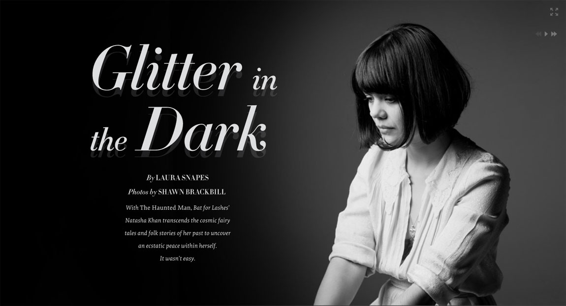 Glitter In The Dark Website Screenshot