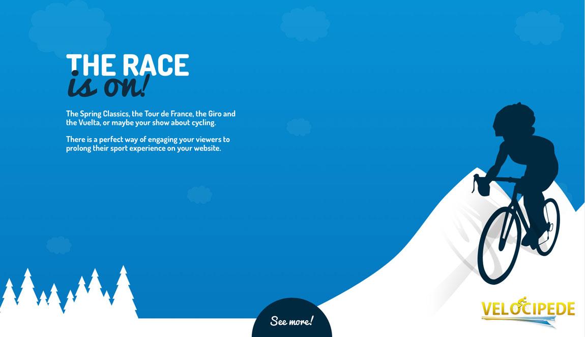 Velocipede Game Website Screenshot
