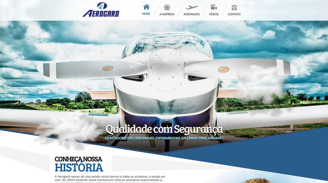 Aerogard Website Screenshot