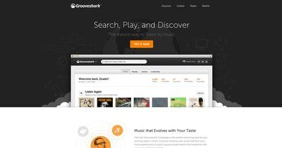 New Grooveshark Thumbnail Preview