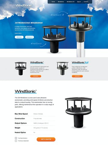 WindSonic Wind Sensor Thumbnail Preview