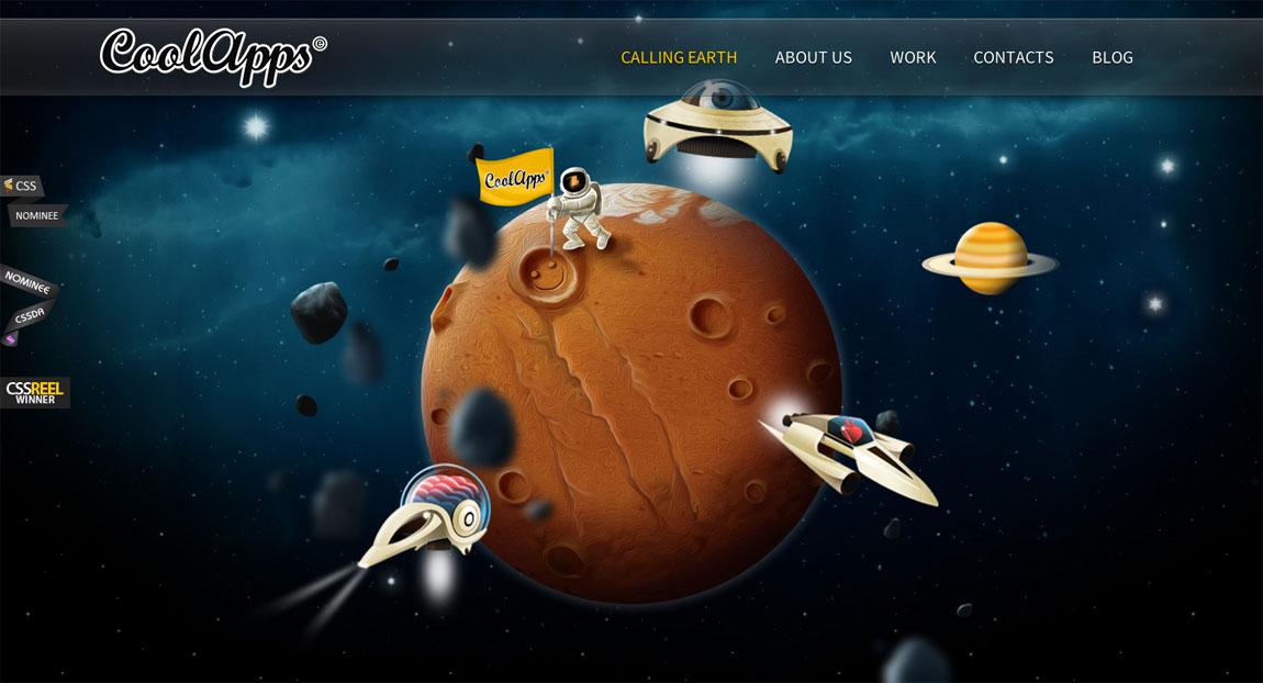 CoolApps(e) Website Screenshot
