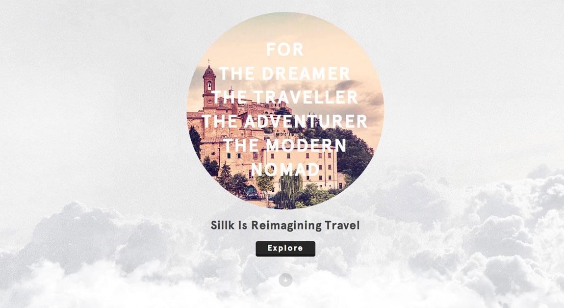 Sillk Website Screenshot