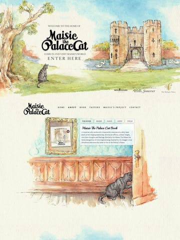 Maisie The Palace Cat Thumbnail Preview