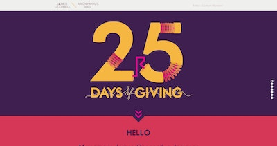 25 Days of Giving Thumbnail Preview