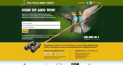 Wild Bird Trust Thumbnail Preview