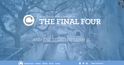 Waller Creek Final Four Thumbnail Preview