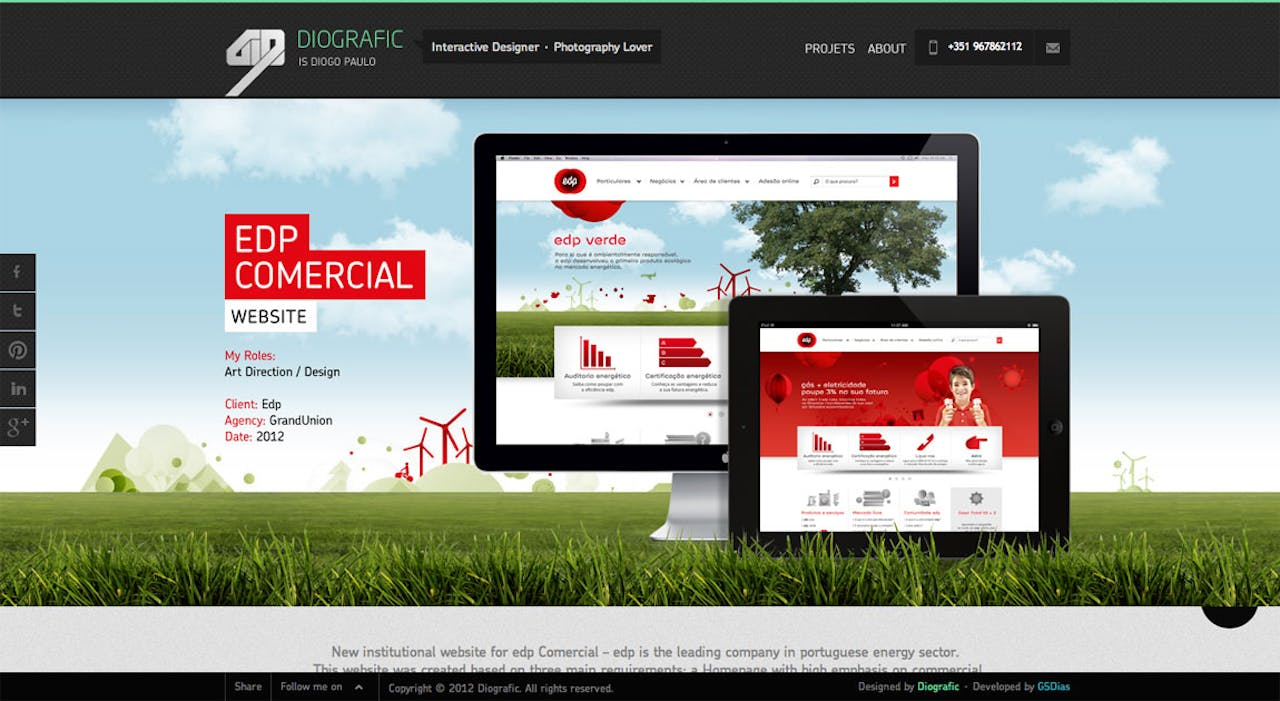 Diografic Website Screenshot