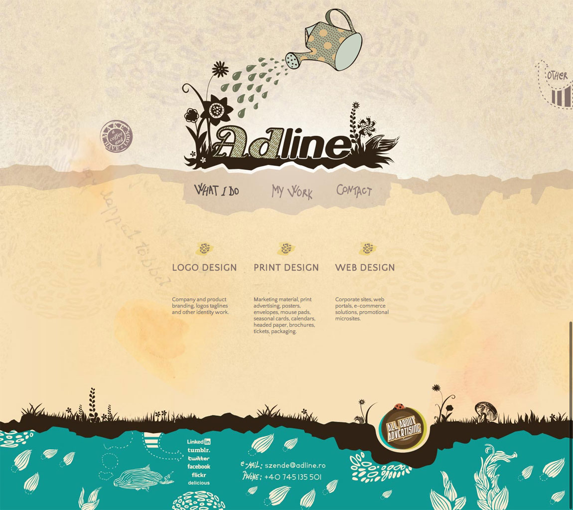 Adline Website Screenshot