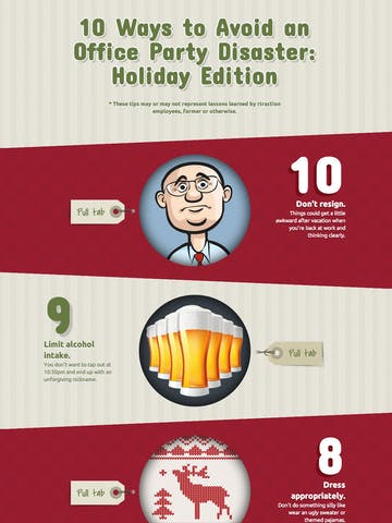 10 Ways to Avoid an Office Party Disaster: Holiday Edition Thumbnail Preview