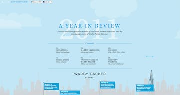 2011 Warby Parker Annual Report Thumbnail Preview