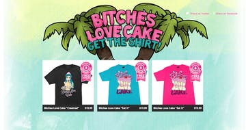 Bitches love cake Thumbnail Preview