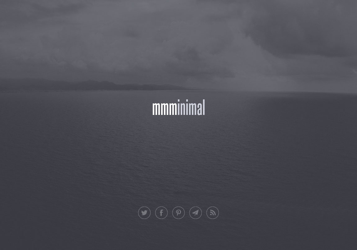 mmminimal Website Screenshot