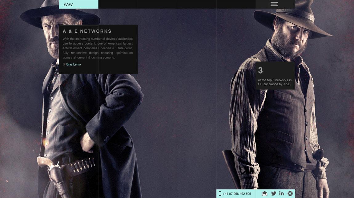 Nique Woodhouse Website Screenshot