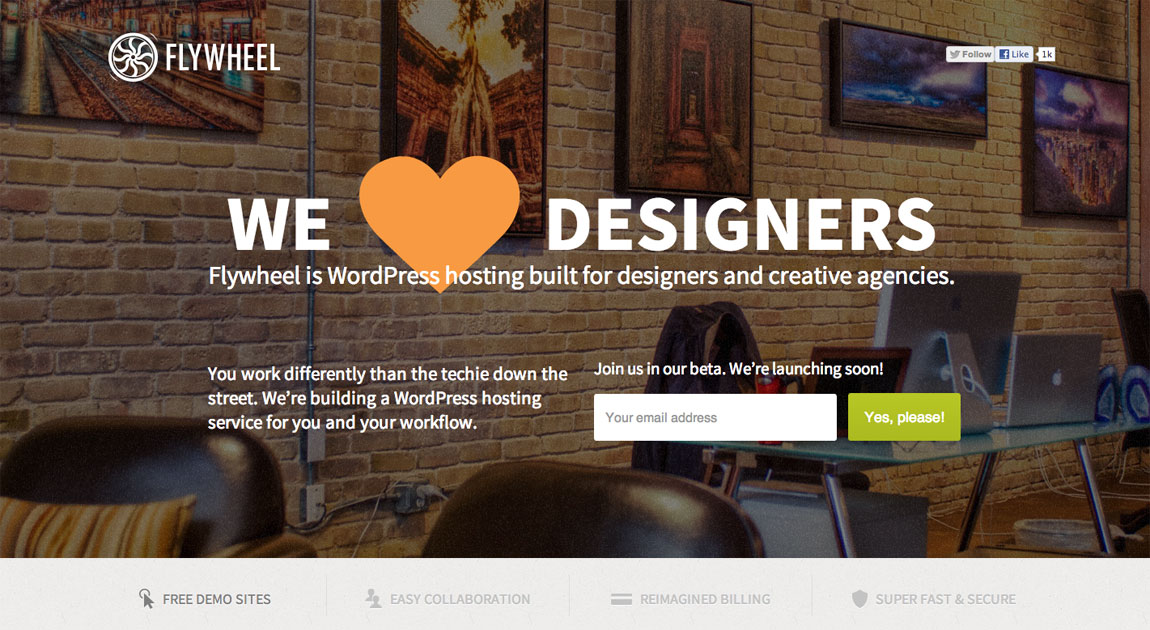 We ♥ Designers Website Screenshot