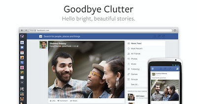 Facebook News Feed Redesign Thumbnail Preview