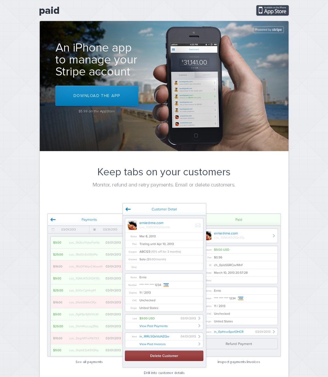 Paid Website Screenshot