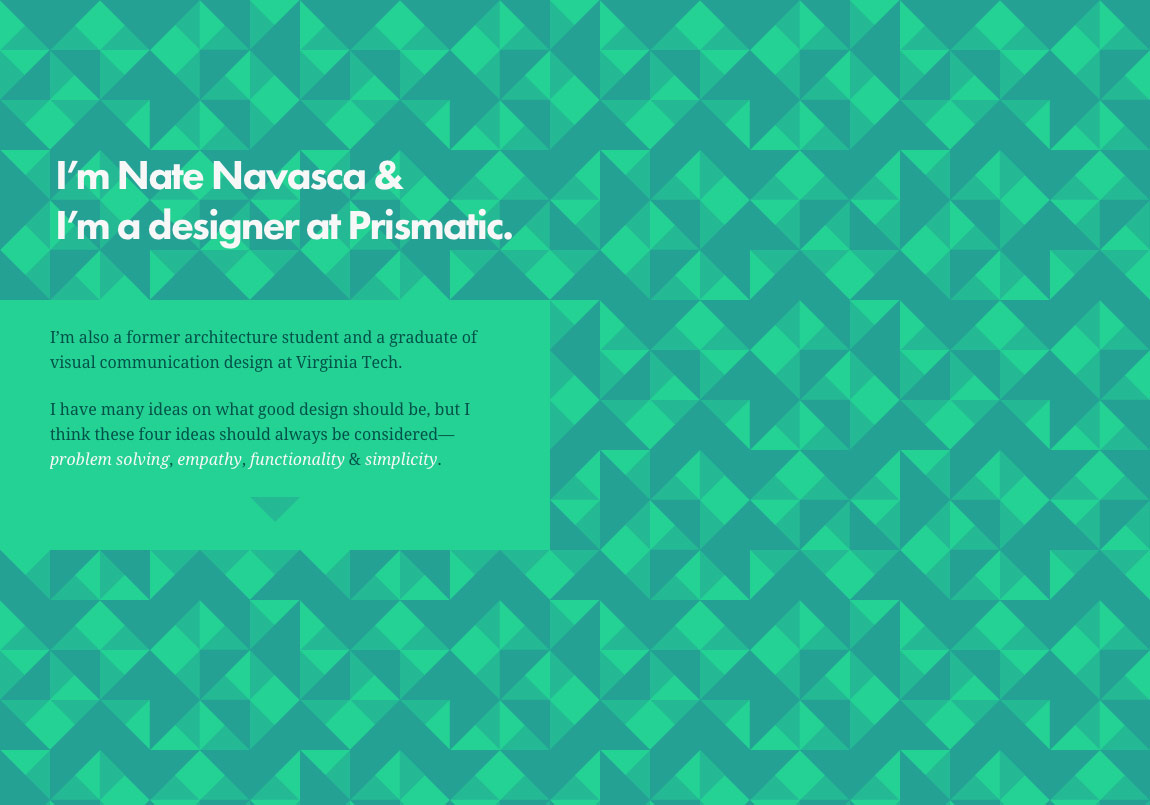 Nate Navasca Website Screenshot