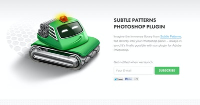 Subtle Patterns Photoshop plugin Thumbnail Preview