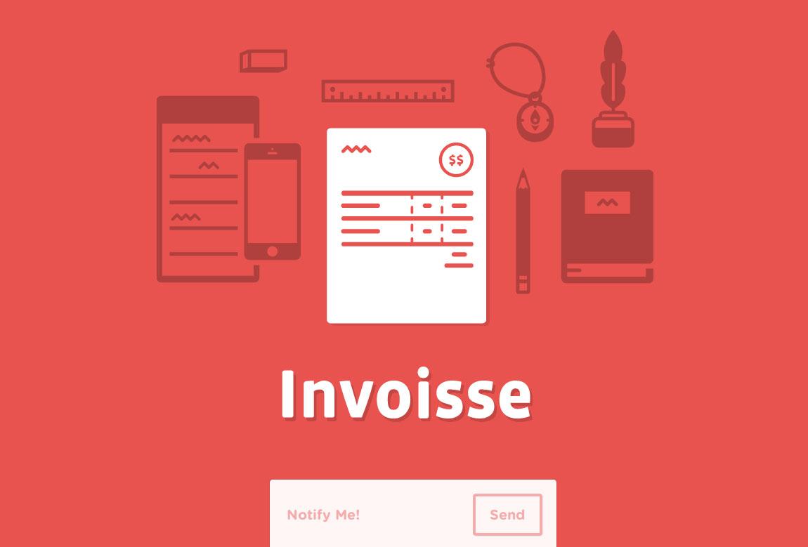 Invoisse Website Screenshot