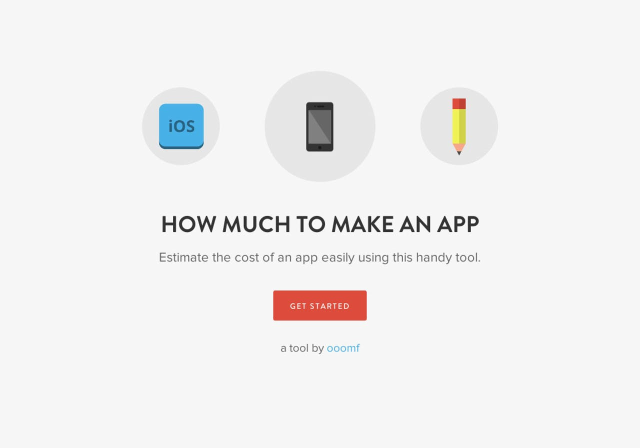 How Much Does It Cost To Make An App? Website Screenshot