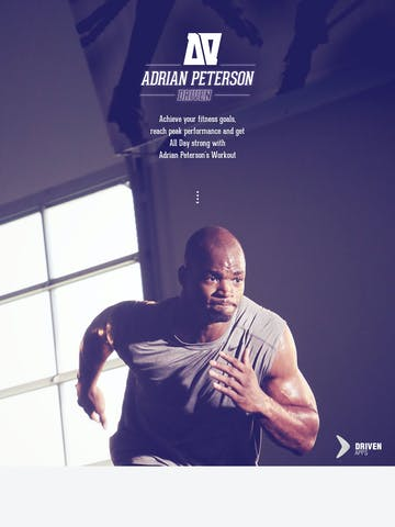 Adrian Peterson Driven Thumbnail Preview