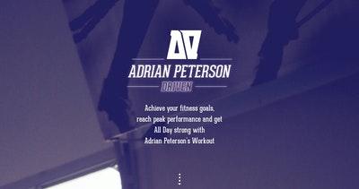 Adrian Peterson Driven Thumbnail Preview