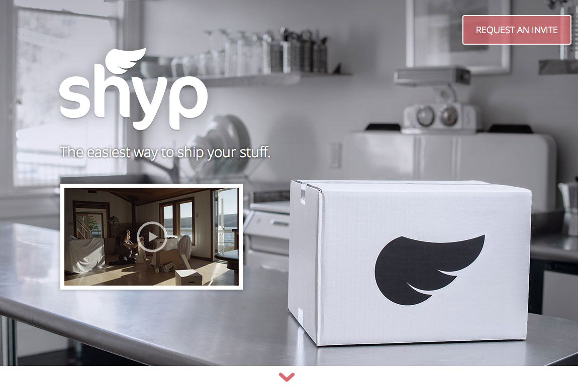 Shyp Website Screenshot