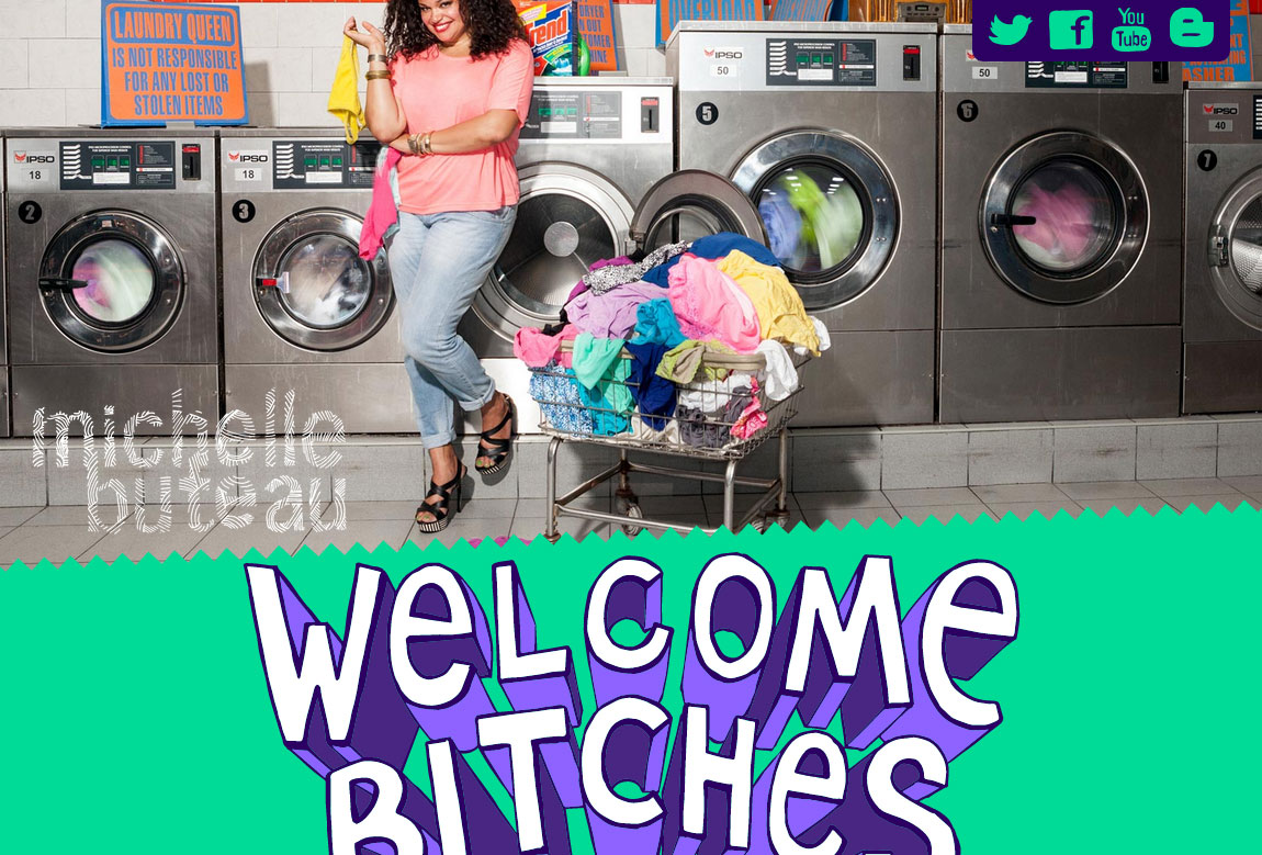 Michelle Buteau Website Screenshot