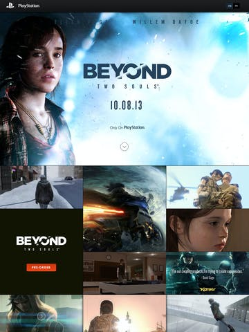 Beyond: Two Souls Thumbnail Preview
