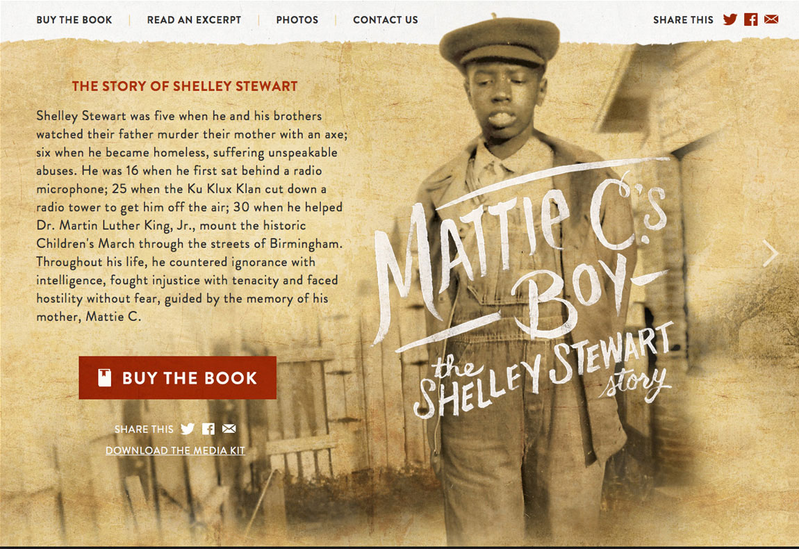 Mattie C.'s Boy Website Screenshot