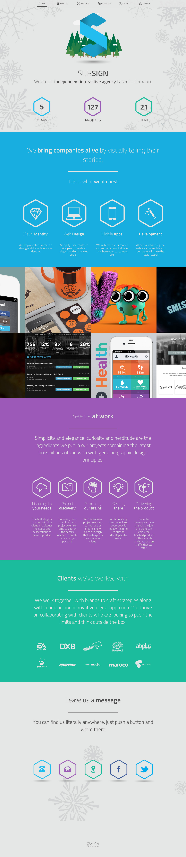 Subsign Website Screenshot