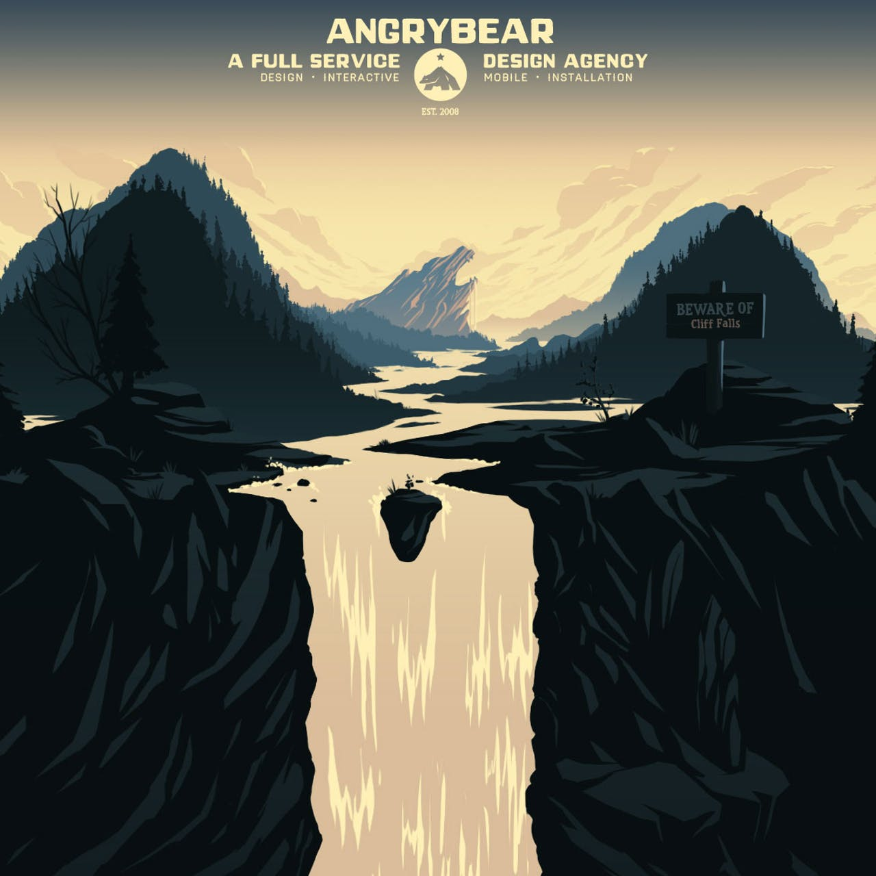 Angry Bear Website Screenshot