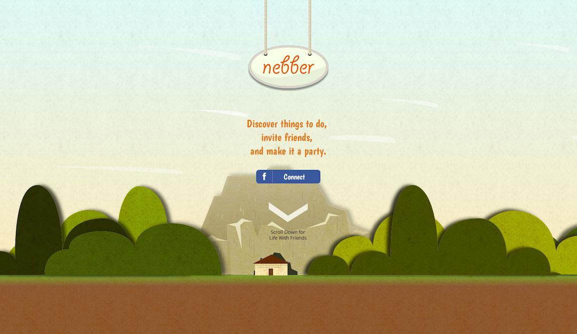 Nebber Website Screenshot