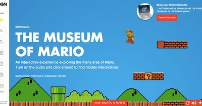 Museum of Mario Thumbnail Preview