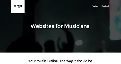 Amp – Websites for Musicians Thumbnail Preview
