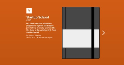 2013 Startup School Thumbnail Preview