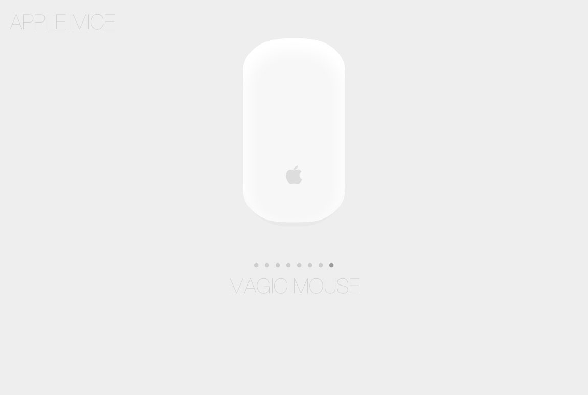 Apple Mice Website Screenshot