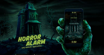 Horror Alarm Thumbnail Preview