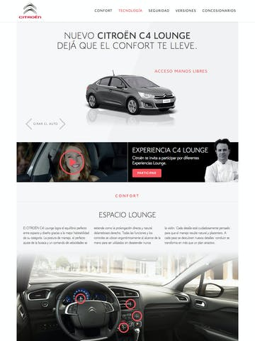 Citroen C4 Lounge Thumbnail Preview