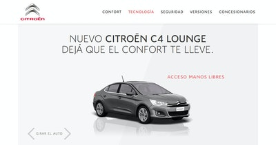 Citroen C4 Lounge Thumbnail Preview