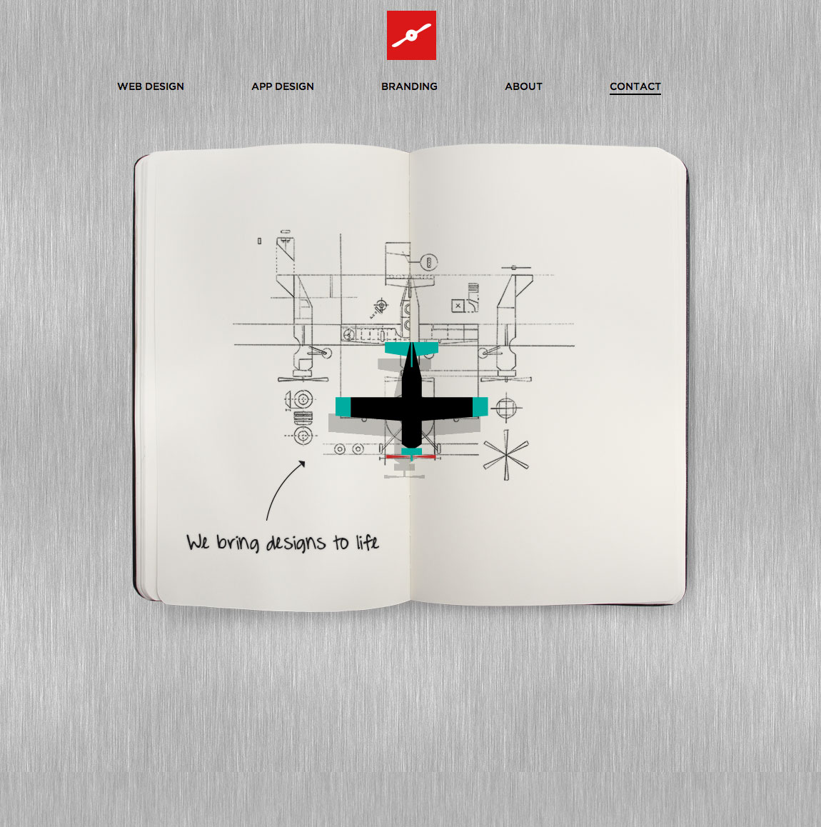 Fluger Design Website Screenshot