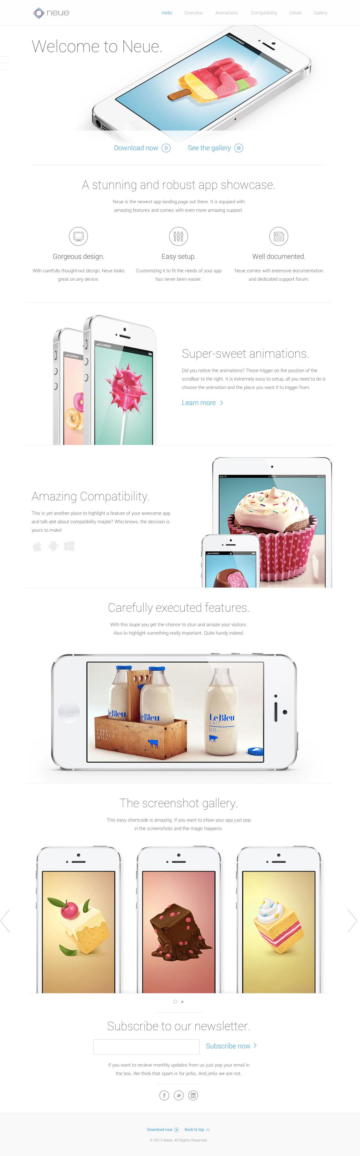 Neue Website Screenshot